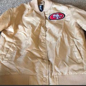 Letter man 49ers jacket